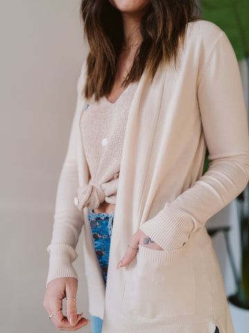 Almond Milk Cardigan