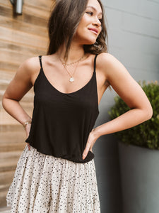 Black Mirabel Sleek Tank