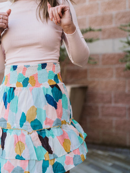 Kensington Watercolor Skirt