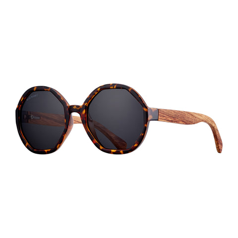 Dark Amber Tortoise Donna Glasses