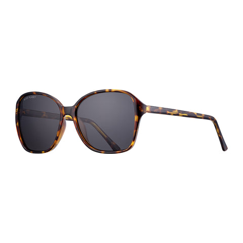 Honey Tortoise & Smoke Althea Glasses