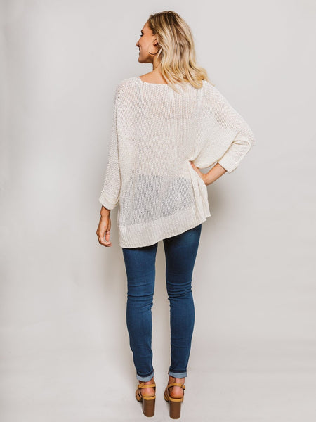Favorite Loose Knit Sweater Cream