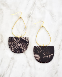 Black Emmy Earrings