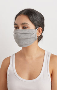 Heather Grey Face Mask
