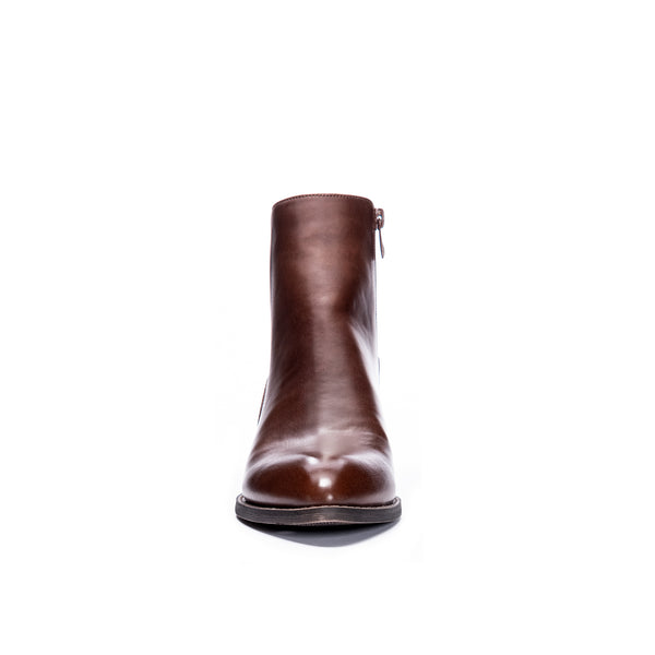 Brown Cicily Two Tone Boot