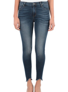 Connie Ankle Skinny High Rise Jeans
