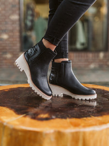 Dolce Vita Huey Black Leather Chelsea Boot