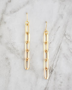 Small Chain Electra Earrings