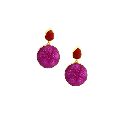 FJEA12121PI-EARRING-PINK