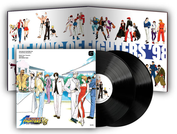 King of Fighters '98 The Definitive Soundtrack - HighscoreRecords.net