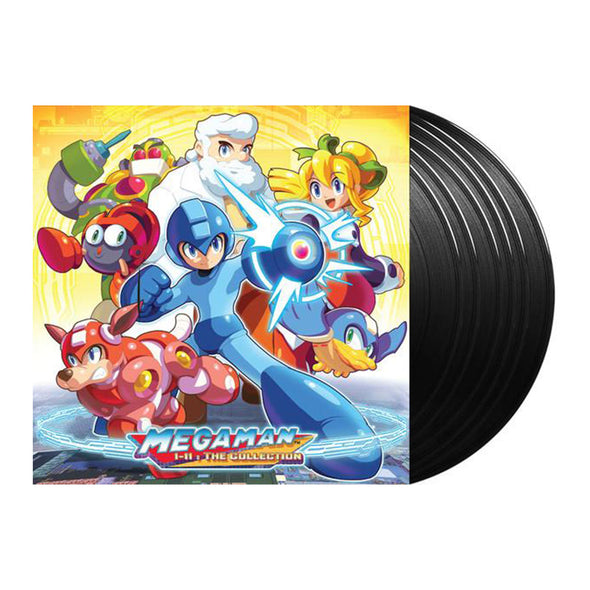 Mega Man 1-11: The Collection (Limited Edition 6LP Boxset) highscorerecords.net
