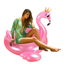 DMAR 150cm Giant Inflatable Flamingo Pool Float