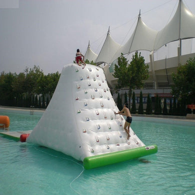 Iceberg inflatable rock climbing for water