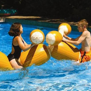 2pcs Pool Float Game Inflatable Water Gladiator set