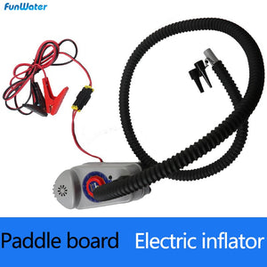 Inflatable SUP Paddle Board accessories car battery pump