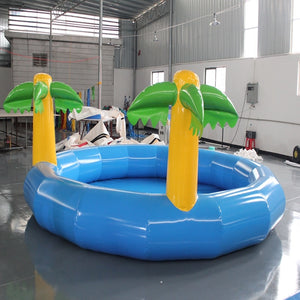 Inflatable outdoor large swimming pool