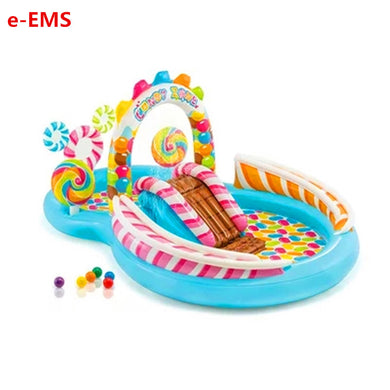 Inflatable Candy Water Spray Swimming Pool