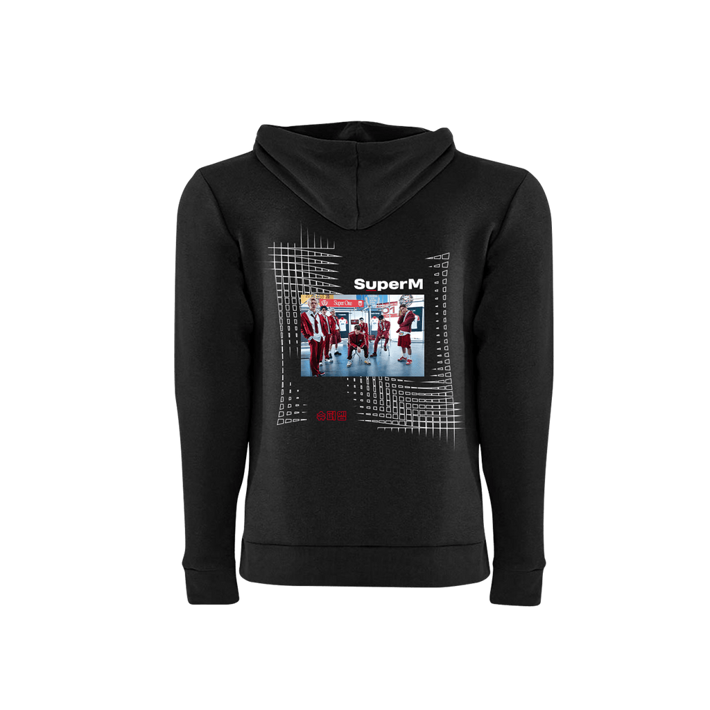 FLASH SALE - SuperM Photo Printed Hoodie + Digital Album Hoodie SuperM