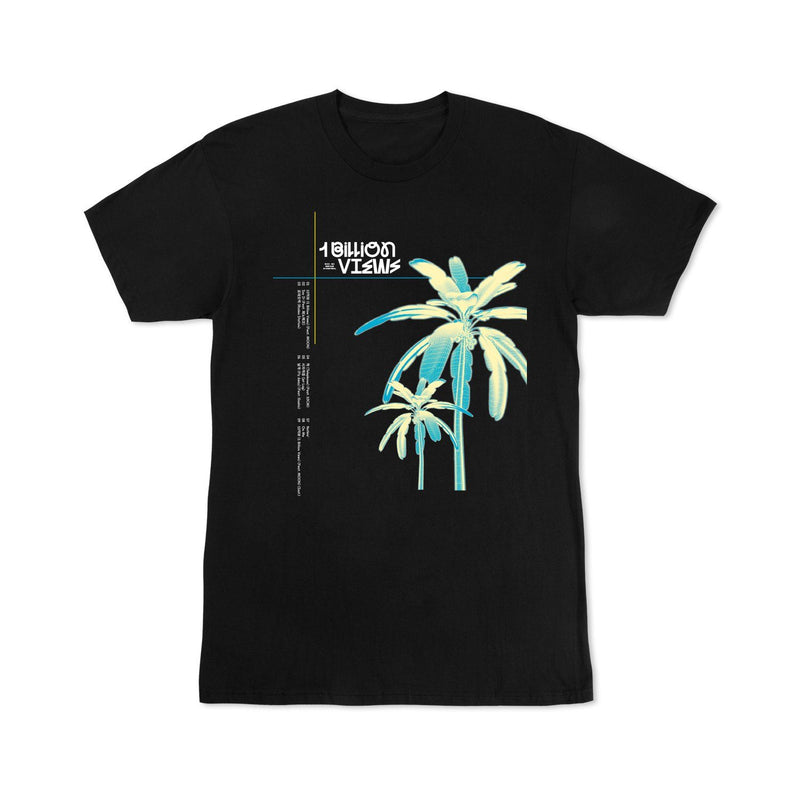 Pre-Order - EXO-SC 1 Billion Views black short sleeve t shirts Accessories EXO