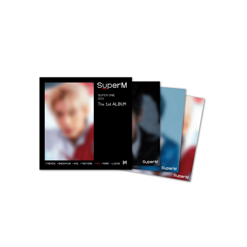 Pre-Order - Mini LP poster with artist autograph [TEN] + Digital Album Accessories SuperM