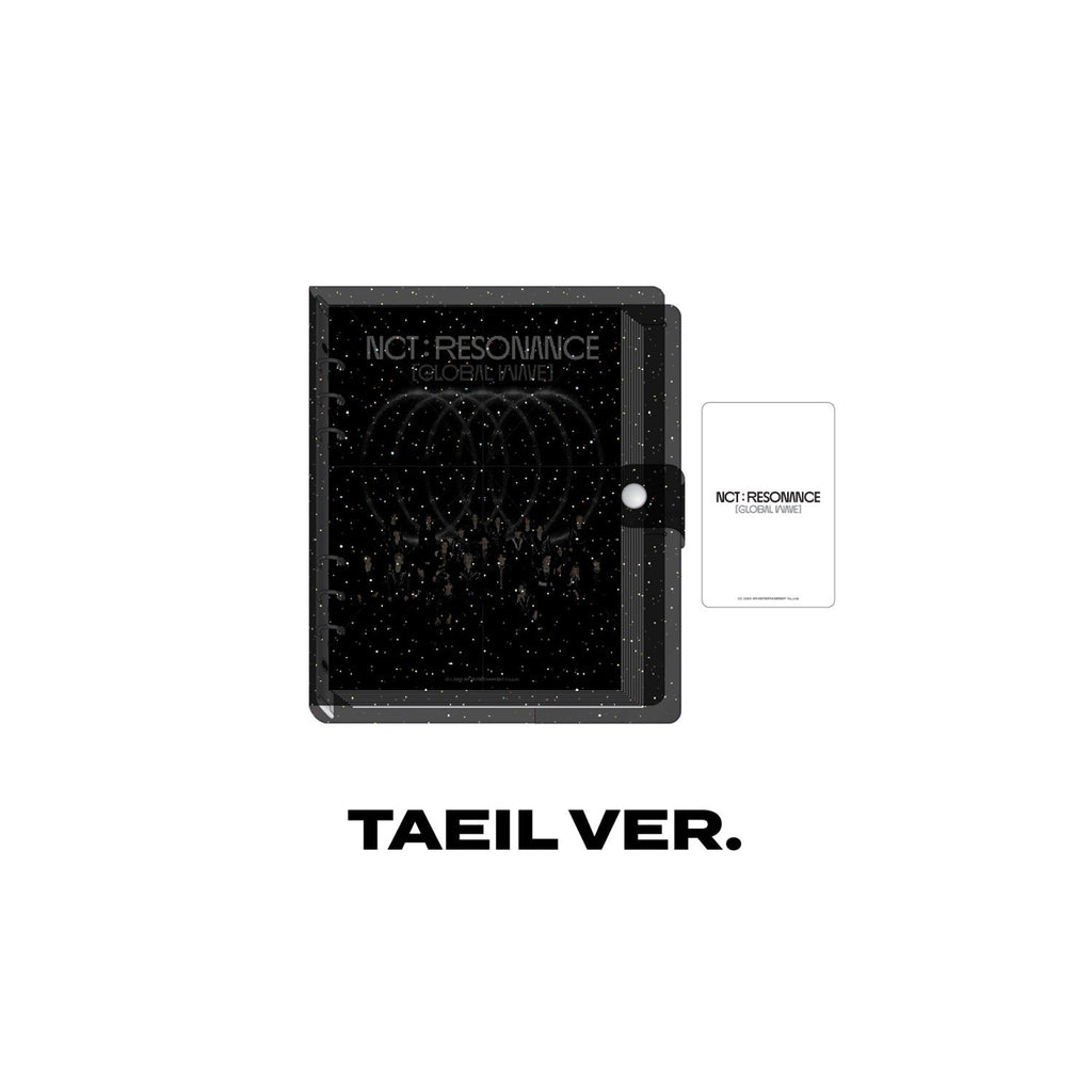 Pre-Order - NCT Virtual Concert 20 AR Ticket Scrapbook Accessories NCT127
