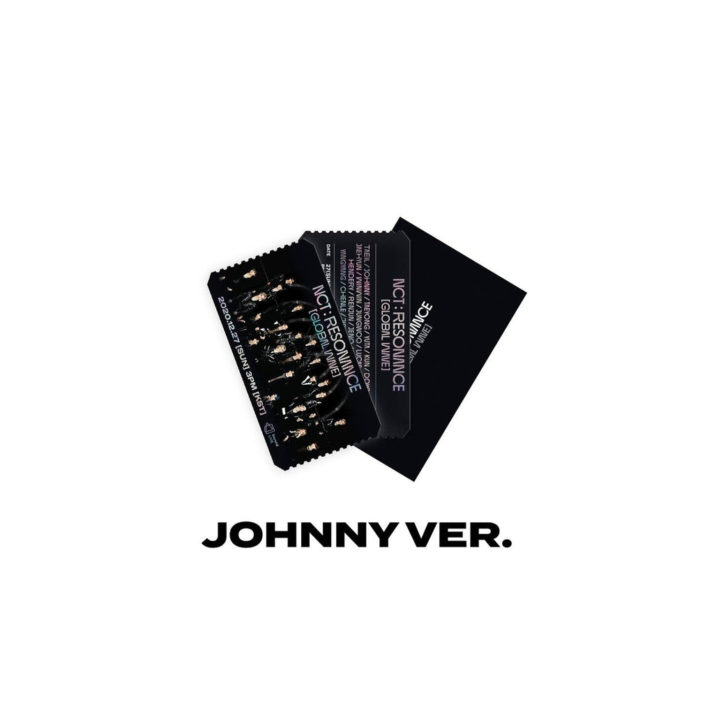 Pre-Order - NCT Virtual Concert 20 AR Ticket Set Accessories NCT127 JOHNNY