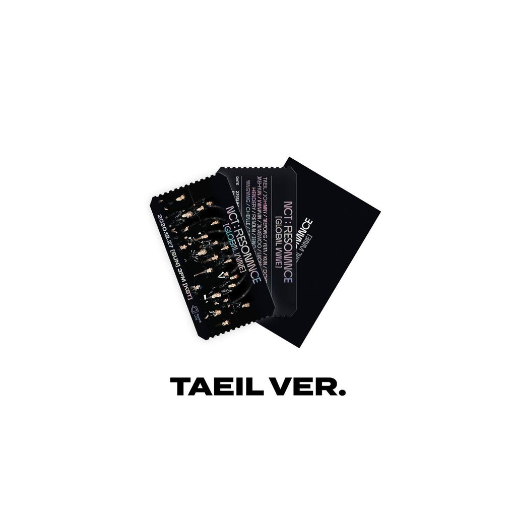Pre-Order - NCT Virtual Concert 20 AR Ticket Set Accessories NCT127 TAEIL