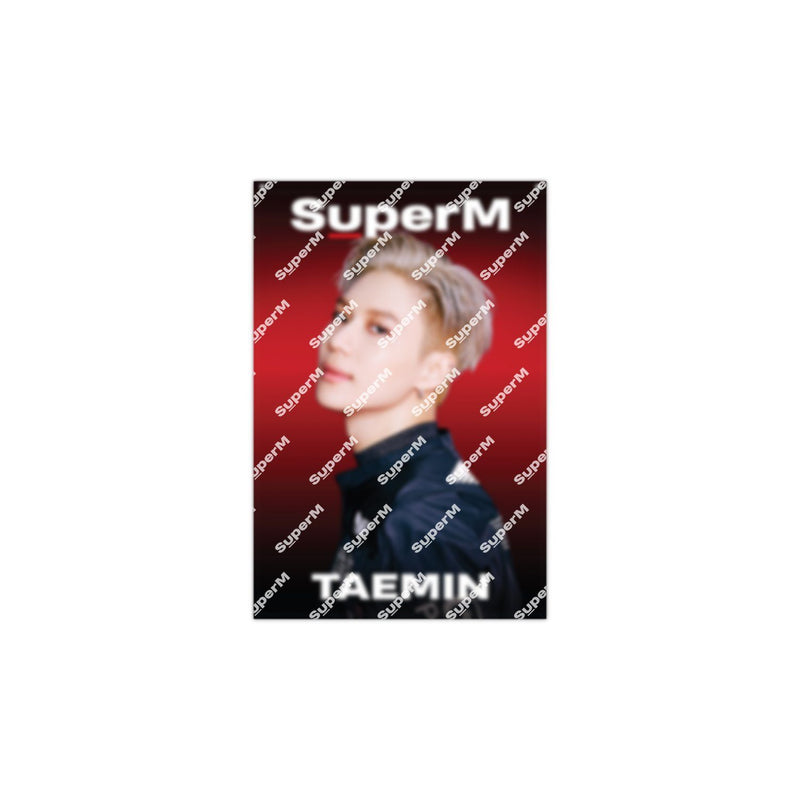 Pre-Order - SuperM '100' AR Fabric Poster [TAEMIN] + Digital Album Accessories SuperM