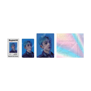 Pre-Order - SuperM Beyond LIVE Beyond the Future ID CARD+DECO STICKER Accessories SuperM