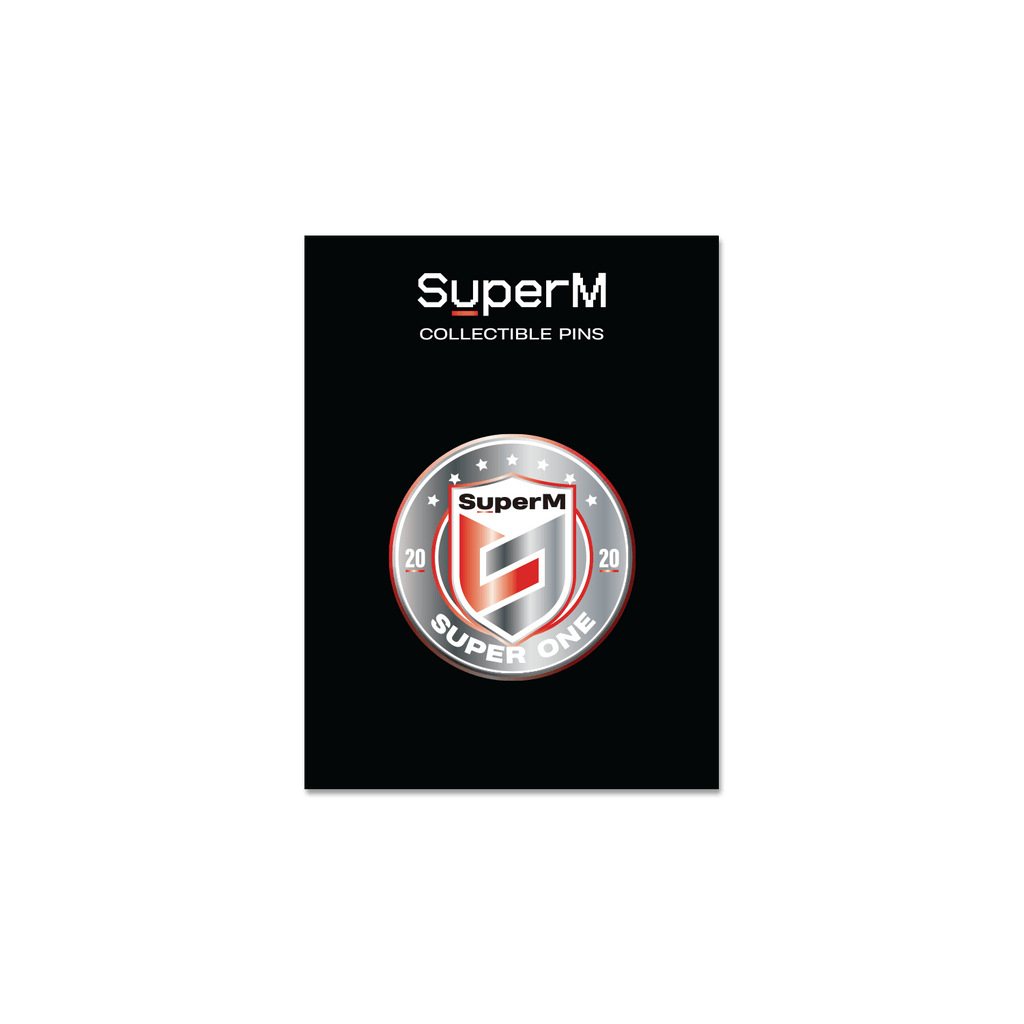 Pre-Order - SuperM 'Super One' Collectable Metal Pin + Digital Album Accessories SuperM