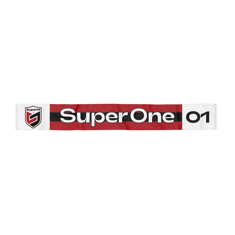 Pre-Order - SuperM 'Super One' Scarf + Digital Album Accessories SuperM