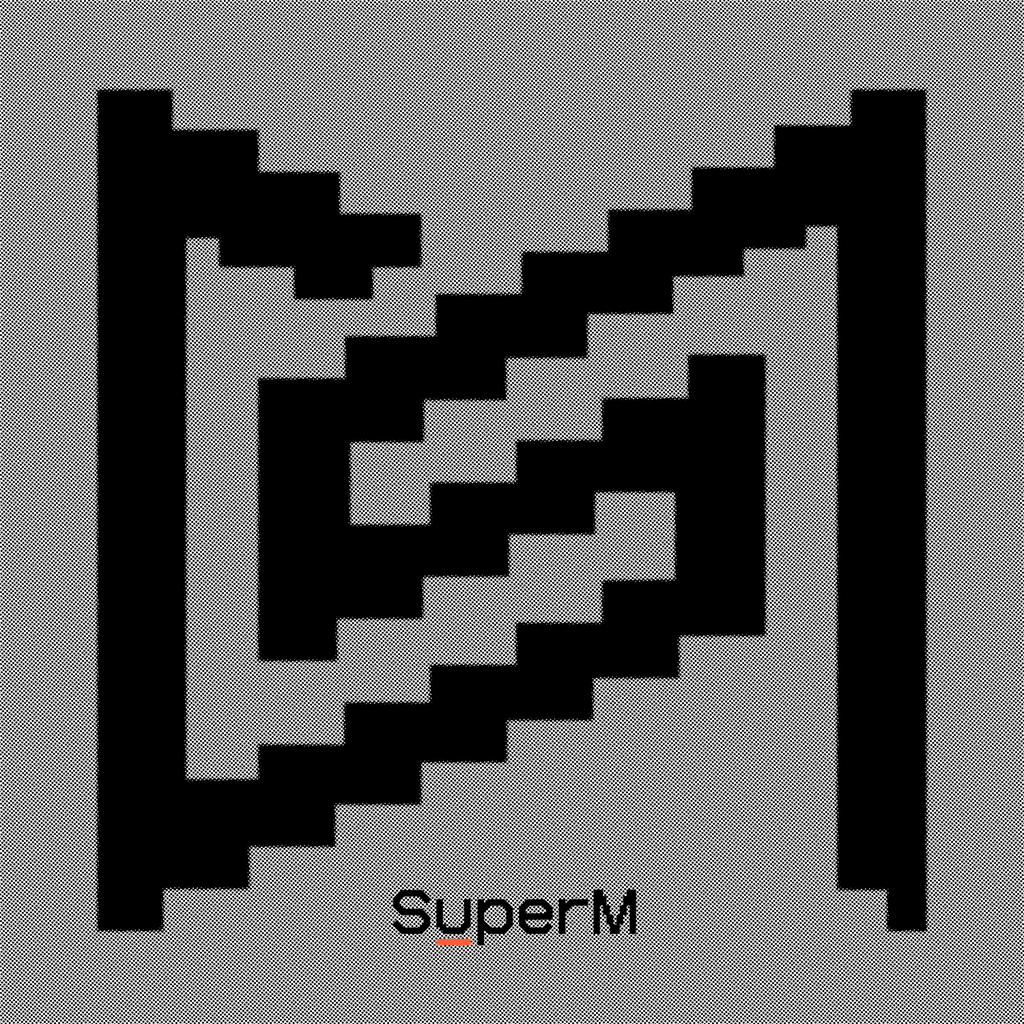 Pre-Order - SuperM The 1st Album 'Super One' Albums SuperM