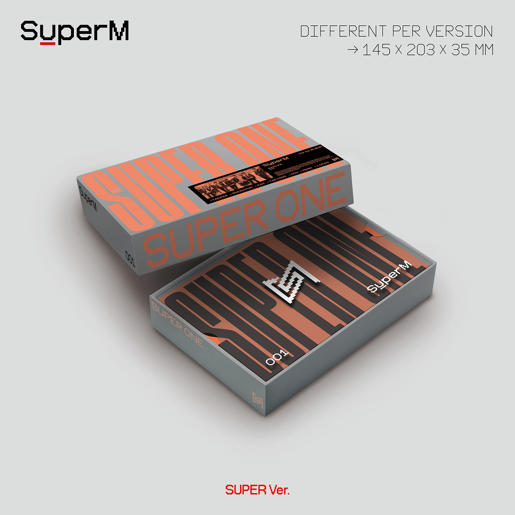 Pre-Order - SuperM The 1st Album 'Super One' (Super Ver.) Albums SuperM