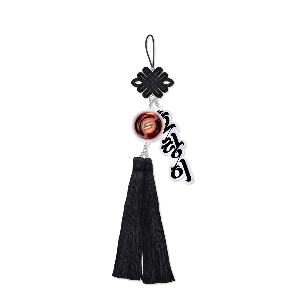 Pre-Order - SuperM 'Tiger Inside' Keyring with Tassel + Digital Album Accessories SuperM