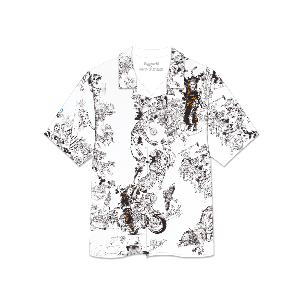Pre-Order - SuperM X Kim Junggi Art Printed Shirts + Digital Album Tops SuperM