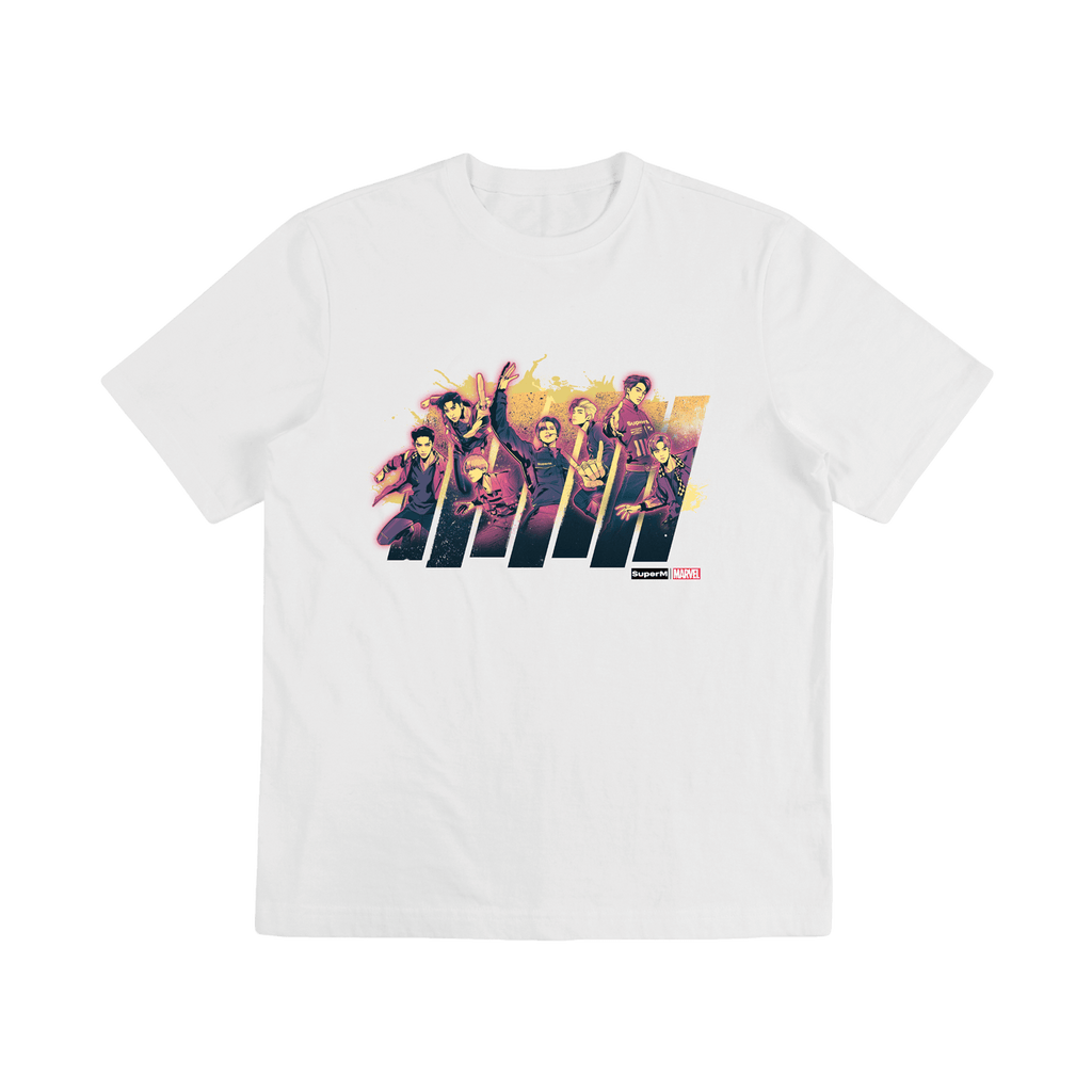 Pre-Order - SuperM X MARVEL Color Graphic T-Shirts + Digital Album Tops SuperM