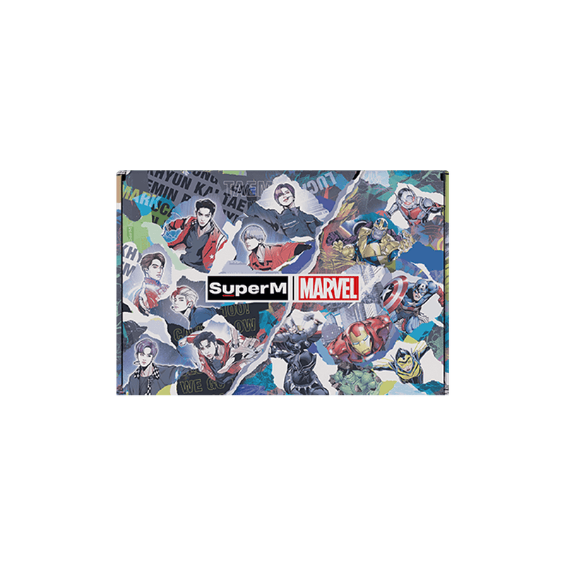 Pre-Order - SuperM X MARVEL Special Package [Cartoon Type] + Digital Album Accessories SuperM