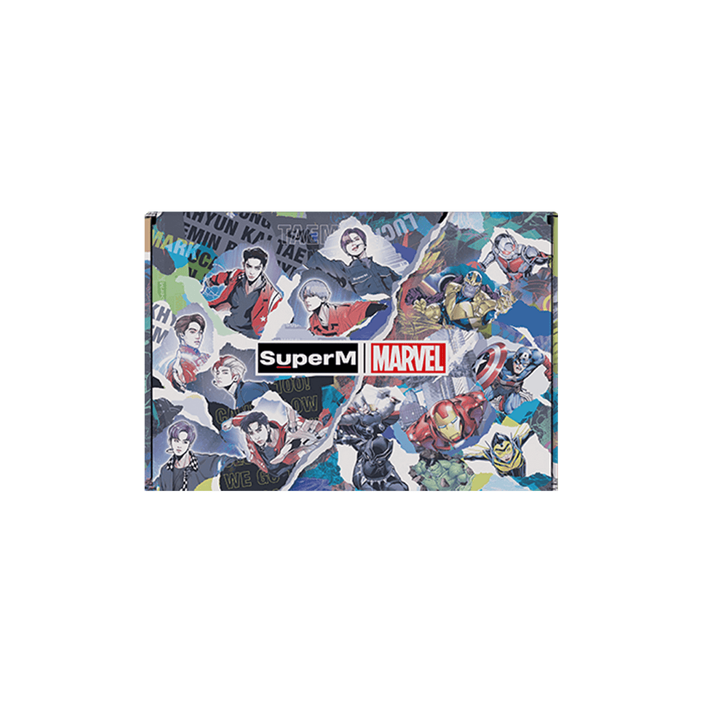 Pre-Order - SuperM X MARVEL Special Package [Logo Type] + Digital Album Accessories SuperM