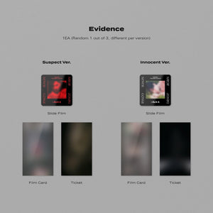 Pre-Order - TAEMIN The 3rd Album 'Never Gonna Dance Again : Act 1' (Suspect + Innocent Set) Albums SHINee