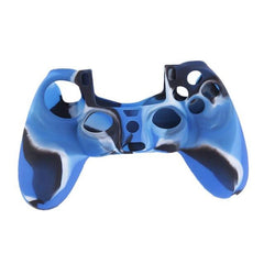 Cool Camouflage Soft Silicone Cover Case Protection Skin For Sony Playstation 4 PS4 for Dualshock 4 Controller Console Decals