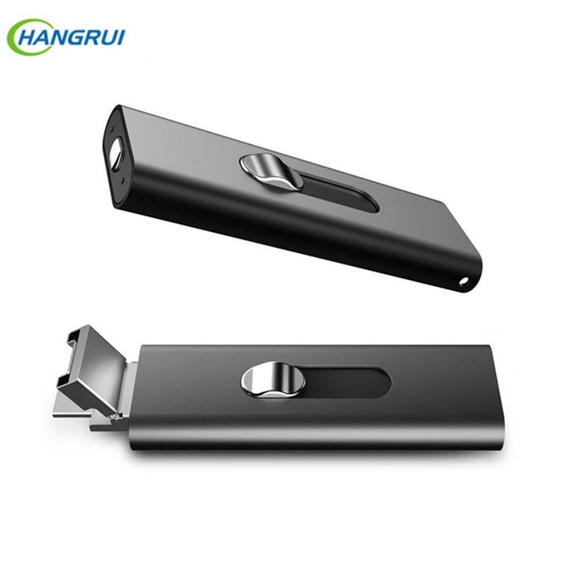 16GB Metal Digital Voice Recorder Voice Activated USB Pen for PC xiaomi Android Smartphone drive voice recorder with two Slots
