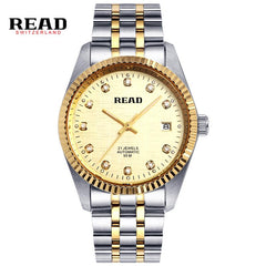 READ series automatic mechanical watches Royal Knight's champagne silk face R8007