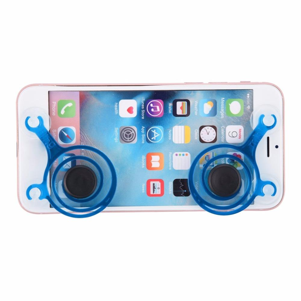 2pcs/Set dual analog Mini Joypad Joystick Smartphone touch cell phone mobile phone Accessory remote game control for Ipad Tablet