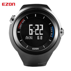 EZON Pedometer GPS Altimeter Thermometer Smart Bluetooth Sports Watch Waterproof 50m Digital Watch Running Watch for IOS Android