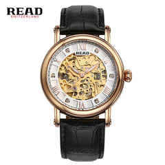 READ Watches Men Luxury Brand the Royal Knights series of hollow automatic machine's Waterproof  Clock  relogio masculino R8032