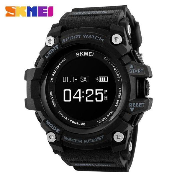 Trendy Smartwatches Mens Watches Top Brand Luxury Smart Watch Men Pedometer Heart Rate Monitor Bluetooth Digital Sports Watches