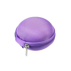 Mini Zipper Case For Earphone Headphones SD Card Storage Bag Box Carrying Pouch Colourful For koss porta pro