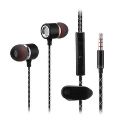 Universal Wired Super Heavy Bass Headset Earbuds In-ear Earphone With Stereo Microphone for Samsung IOS Iphone HTC LG