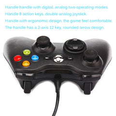 Wired Controller Gamepad Wired Dual-vibration Dual-Rocker USB Computer Game Controller with LED Indicator  Support For Steam Win98/ME/2000/XP/Win7/WIN8