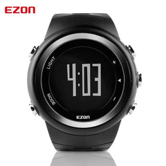 EZON Pedometer Calories Monitor Men Sports Watches Waterproof 50m Digital Watch Running Swimming Diving Wristwatch Montre Homme